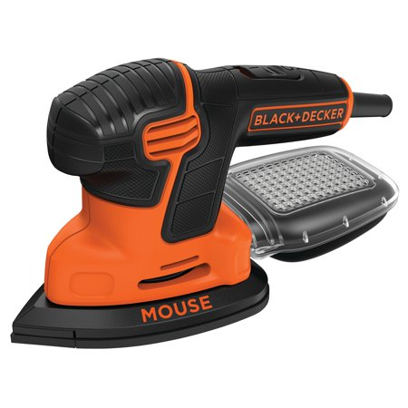 BLACK+DECKER Mouse Detail Sander, (Best Detail Sanders)