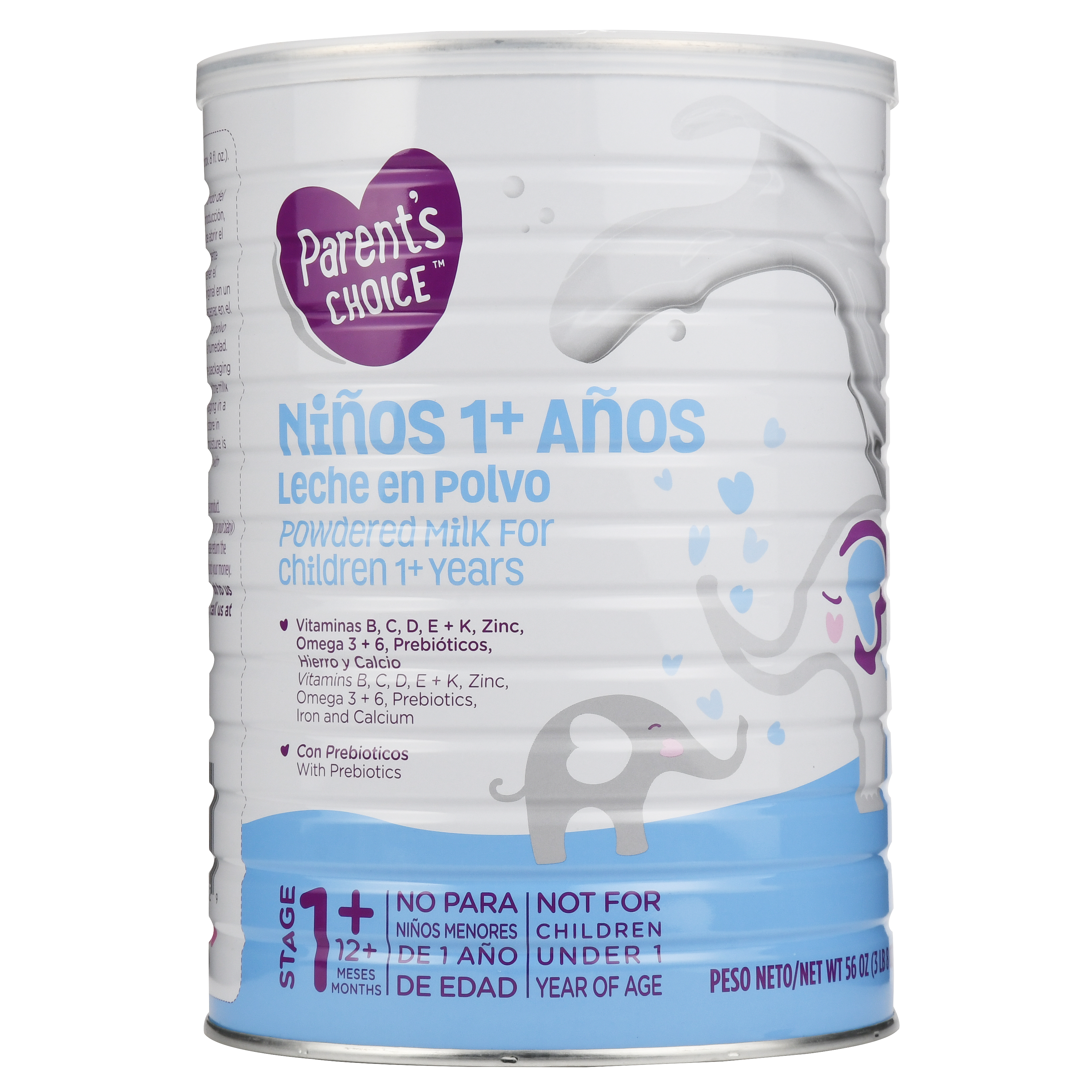 Parent's Choice Powdered Milk for Toddlers (1 year +)