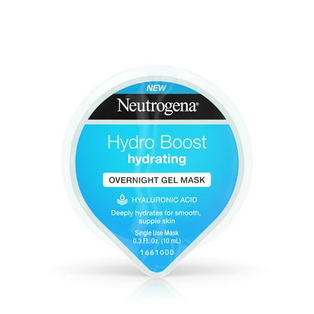 (2 pack) Neutrogena Hydro Boost Moisturizing Overnight Face Mask, 0.3 fl. - Flexifit Full Face Mask