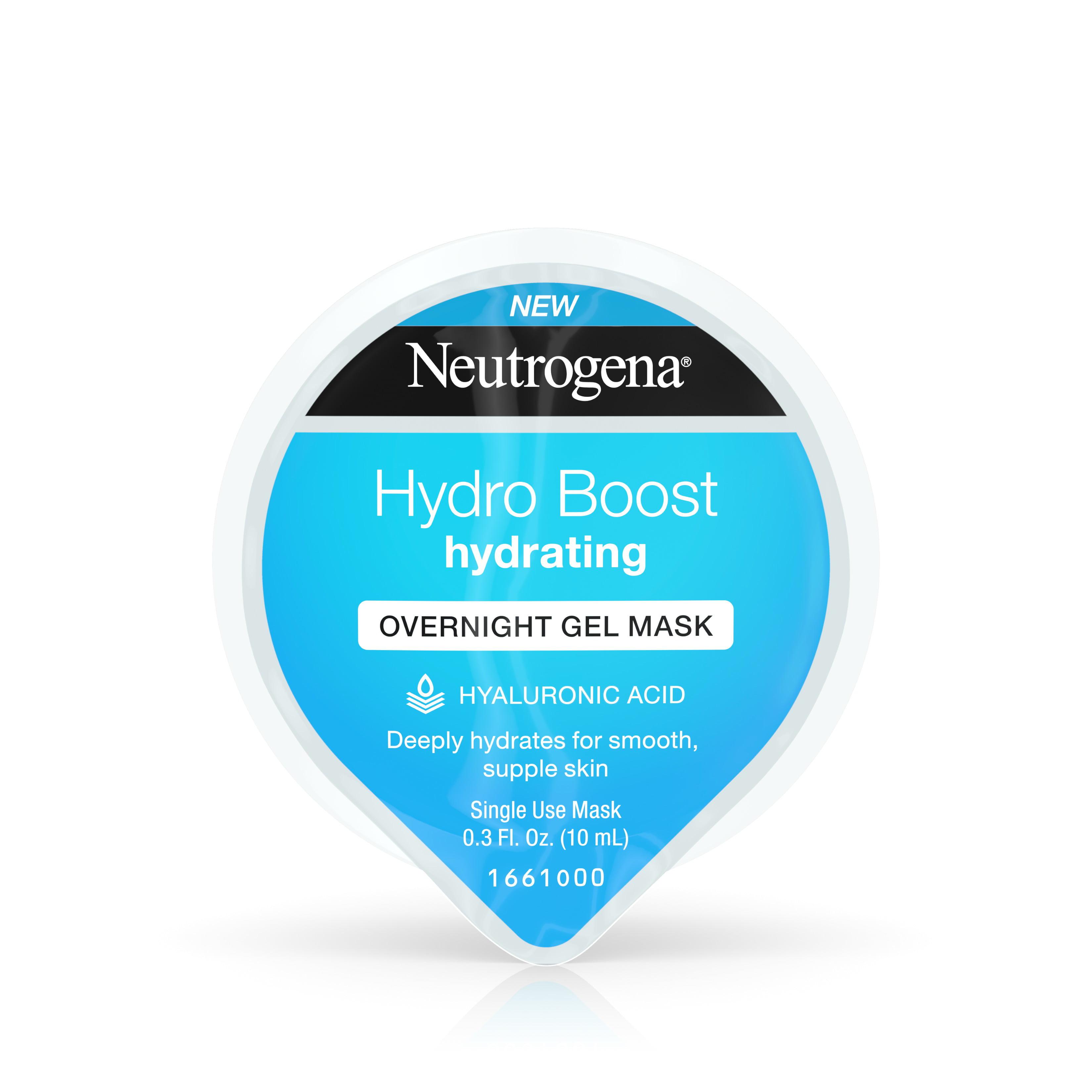 Neutrogena Hydro Boost Moisturizing Overnight Face Mask, 0.3 fl. oz