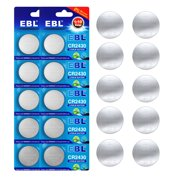 EBL 20-Pack CR2430 Lithium Button Cell Battery