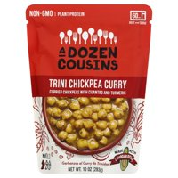 A Dozen Cousins RTE Trini Chickpea Curry 6ct.