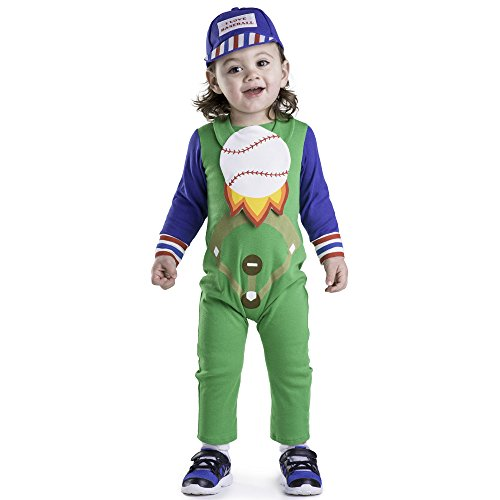 Dress Up America Baseball Baby Costume - Size 0-6 Months