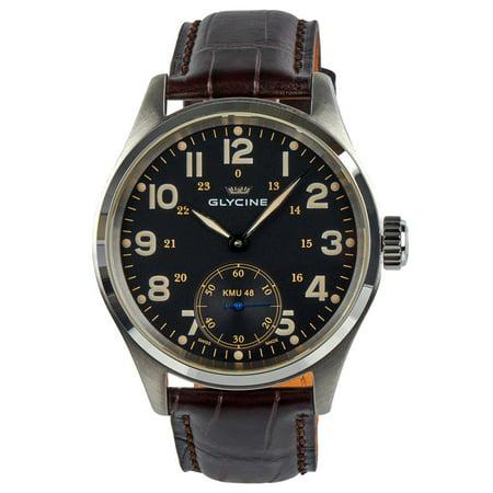 KMU 48 Kriegs Marine Uhren Manual Wind Steel Mens Watch 3906.19AT LB33