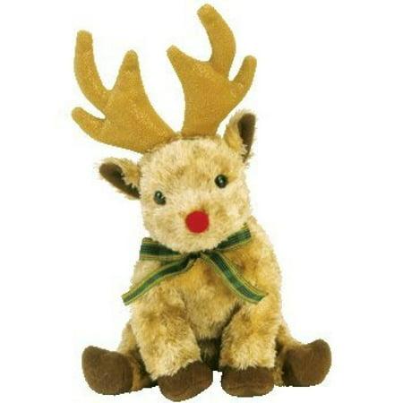 Ty Beanie Babies Rudy the Reindeer May 22, 2003 Retired - Stuffed Reindeer Toy