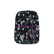 """Backpack - Descendants - Black/White All-over Print 16"""" New 416828"""