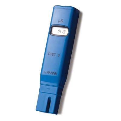 Hanna HI98304 Dist-4 0-19.99 mS CM ATC 0.01 mS CM Resolution Pocket Conductivity Meter by Hanna