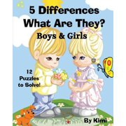 5 Differences - What Are They? - Boys & Girls : Kids Series