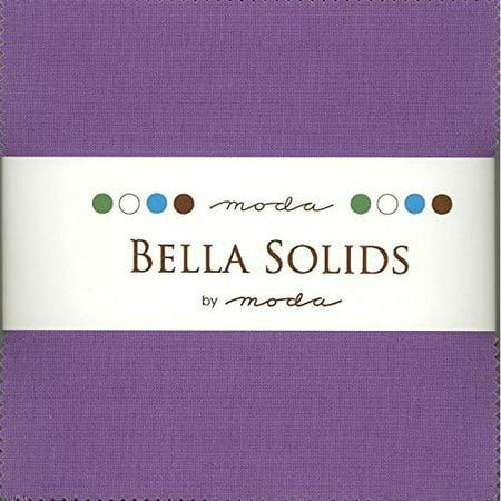 Hyacinth Pack - Bella Solids Hyacinth Charm Pack 42 Squares 5