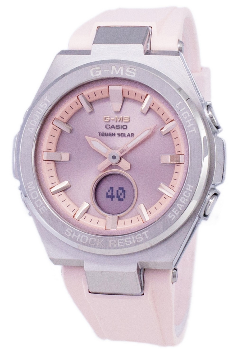 Casio G-MS Tough Solar Shock Resistant Analog Digital MSG-S200-4A MSGS200-4A Womens Watch