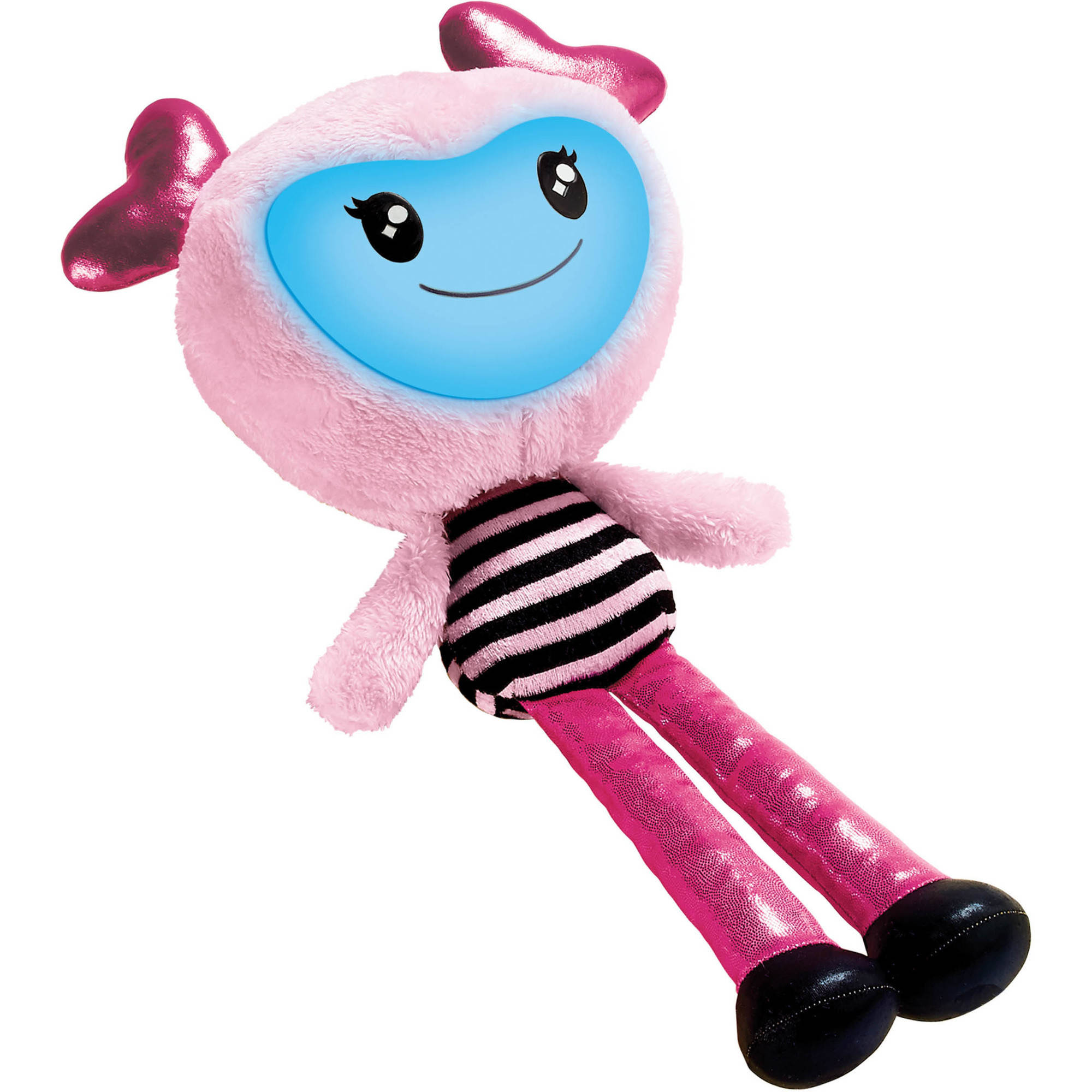 "Brightlings Interactive 15"" Pink Plush with Sound, Music, and Phrases"