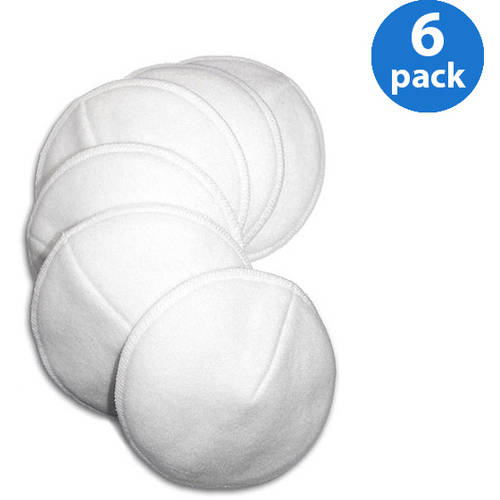Loving Moments by Leading Lady Washable Nursing Pads 6-Pack