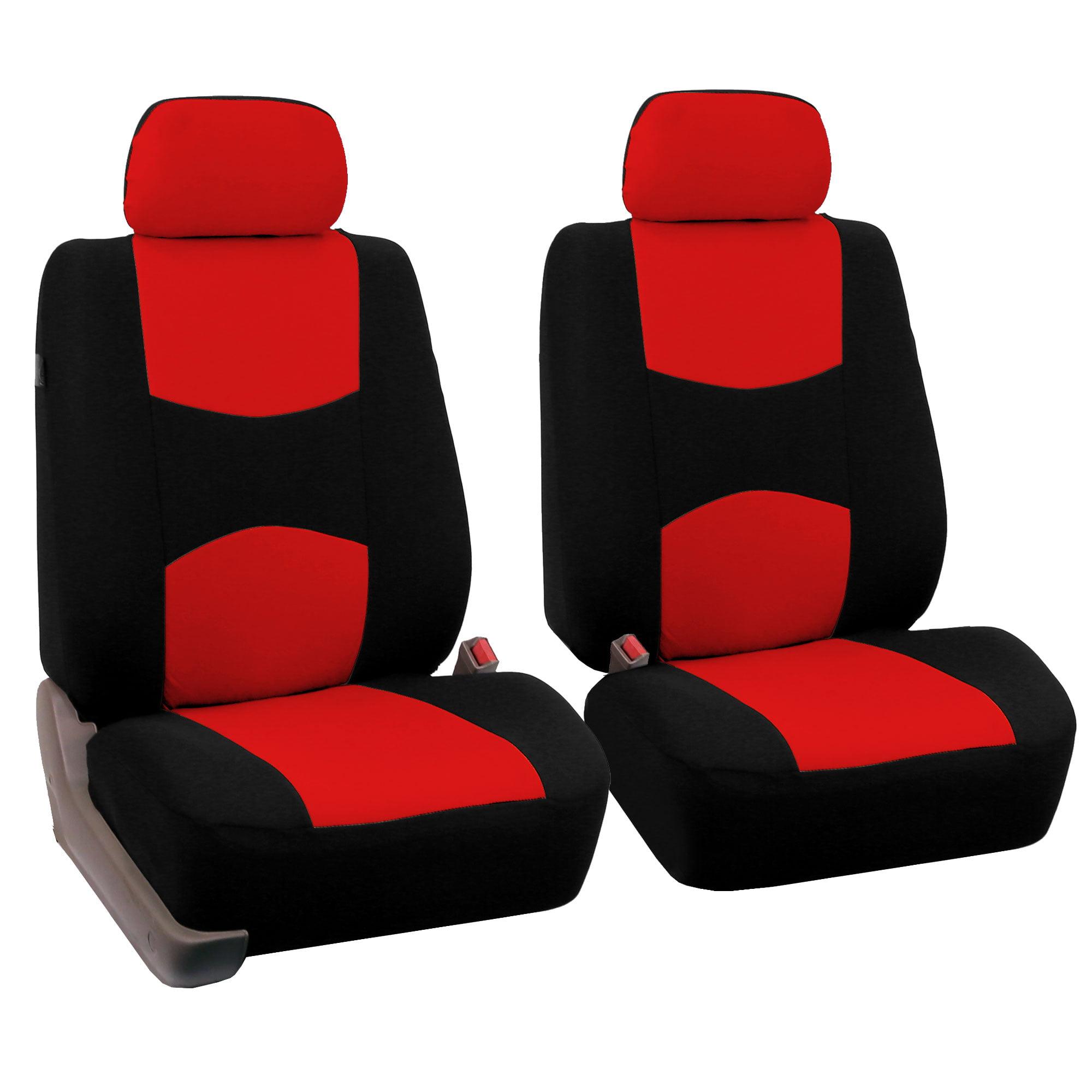 CAR SEAT COVERS full set fit Skoda Fabia leatherette Eco leather black