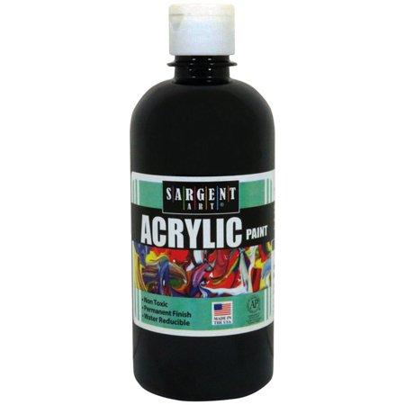 16OZ ACRYLIC PAINT - BLACK