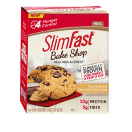Slimfast 80401 Slimfast Bake Shop Peanut Butter Chocolate Chip Cookie 4