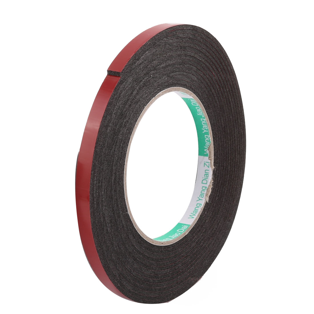 0.8CM Width 5 Meters Length 2MM Thick Dual Sided Sealing Shockproof Sponge Tape