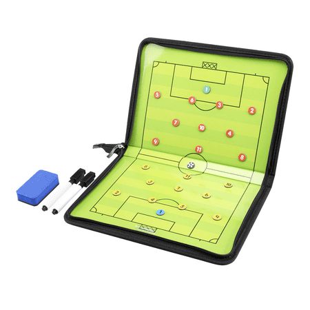 Soccer Coaching Accessories (AGPTEK Football /Soccer Coach Magnetic board dry erase board with Marker)