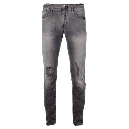 Armani Exchange Men's J13 Slim Fit 5 Pocket Jean Armani Five Pocket Jeans
