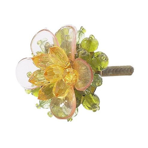 Jubilee Collection Flower Novelty Knob (Set of 4)