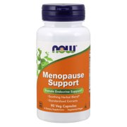 NOW Supplements, Menopause Support, Blend Includes Standardized Herbal Extracts and Other Nutrients, 90 Veg Capsules
