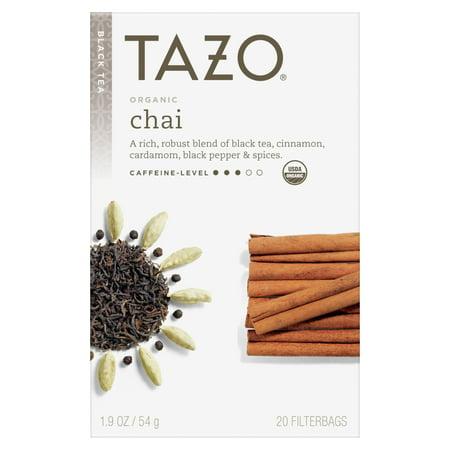 Chai White Tea ((3 Boxes) Tazo Organic Chai Tea Bags Black Tea 20ct)