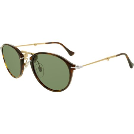 Persol Women's PO3075S-24/31-51 Brown Oval Sunglasses