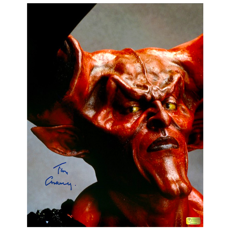 Tim Curry Autographed Legend 11?14 Darkness Photo