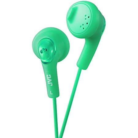 JVC HAF160G Gumy Ear Bud Headphone Green