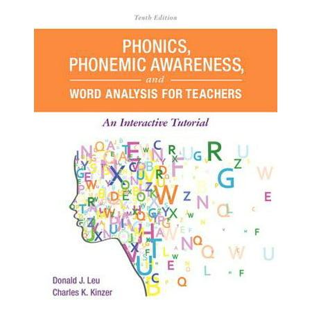 Phonics, Phonemic Awareness, and Word Analysis for Teachers : An Interactive Tutorial Phonemic Awareness Box