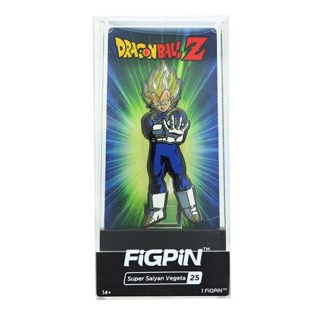 Dragon Ball Z 3-Inch Collectible Enamel FiGPiN - Super Saiyan Vegeta (Dragon Ball Z Saiyan Costume)