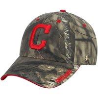 Men's Mossy Oak Camo Cleveland Indians Team Adjustable Hat - OSFA