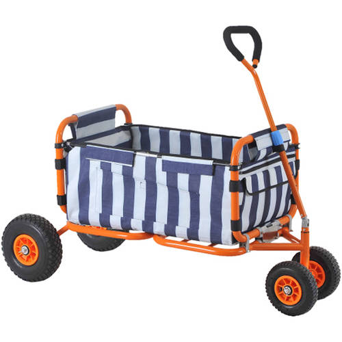 "Sandusky Buddy 5 cu. ft. 24""W Heavy-Duty Folding Wagon"