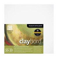 "Ampersand Art - Claybord - Cradled - 2"" Profile - 10"" x 10"""