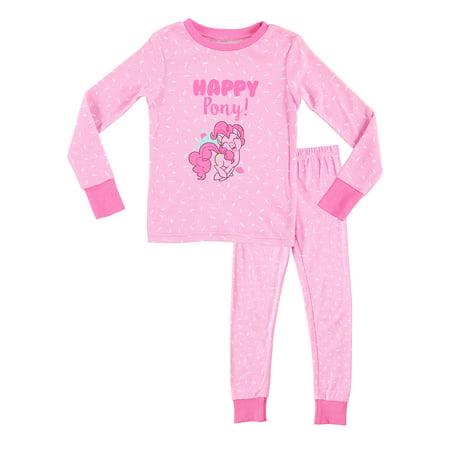 10278aae2 My Little Pony Girls Pajamas | Cotton PJs For Kids | Cute Pink Sleepwear -  4 ...