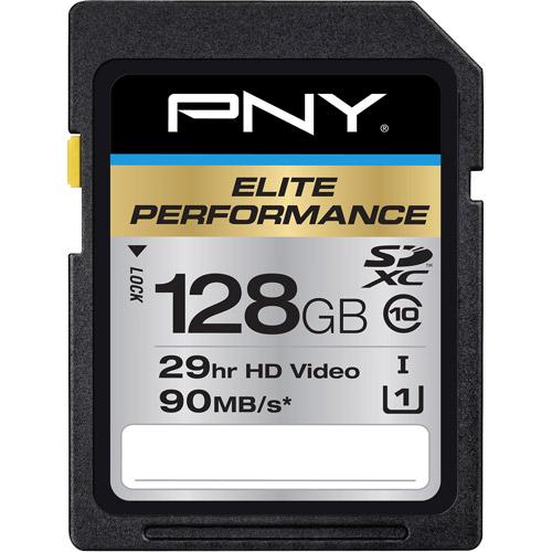 Pny 128gb Elite Performance Sdxc Flash M