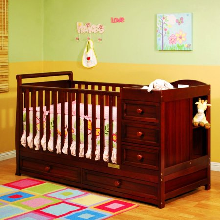 Athena Baby Furniture 661 Daphne 3 In 1 Crib