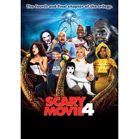 Scary Movie 4 (Unrated and Un (Vudu Digital Video on Demand) - Not Too Scary Halloween Movies