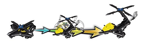 Power Rangers Ninja Steel ‑ Power Rangers Mega Morph Copter with Red Ranger