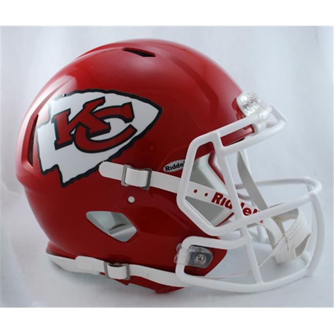 Creative Sports Enterprises RDRSA-CHIEFS Kansas City Chiefs Riddell Speed Revolution Full Size Authentic Proline