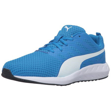promo code 946d8 0a570 PUMA - PUMA 189028-04   Men s Flare Mesh Running Shoe Electric Blue  Lemonade (8.5 D(M) US) - Walmart.com