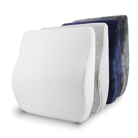 Terrific Lumbar Support Memory Foam Lower Back Pain Cushion Lumbar Support Pillow Support For Car Office Chair Wheelchair Caraccident5 Cool Chair Designs And Ideas Caraccident5Info