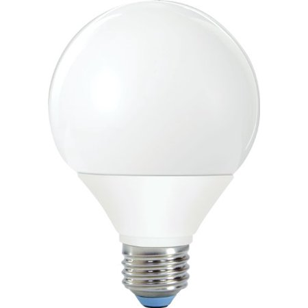 GE Lighting 90803 Reveal Bright from the Start CFL 11-Watt (40-Watt Replacement) 450-Lumen G25 Light Bulb with E26/24 Base, 1-Pack