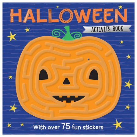 HALLOWEEN MAZE ACTIVITY BOOK (Cardboard Maze Halloween)