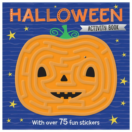 HALLOWEEN MAZE ACTIVITY BOOK - Halloween Competition Ideas