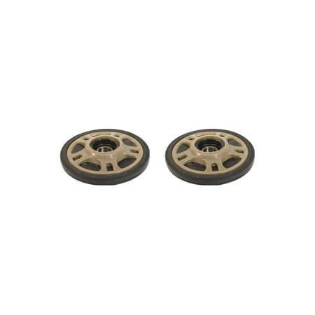 PDD Mid Rail Smoked Idler Wheels Kit for Snowmobile ARCTIC CAT T660 Trail Touring 2003