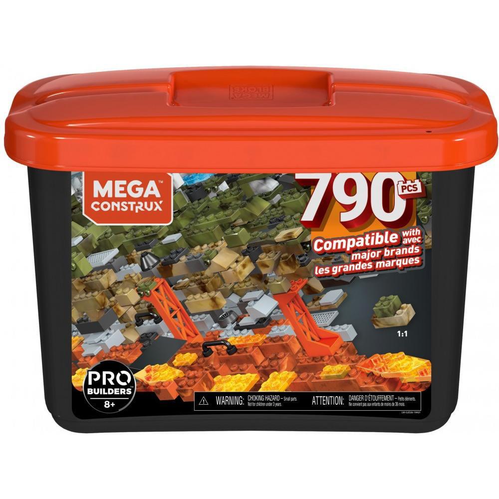Mega Construx Large Probuilder Tub with 790-Pieces