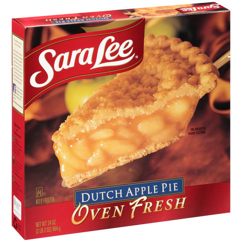 Sara Lee Oven Fresh Dutch Apple Pie, 34 oz