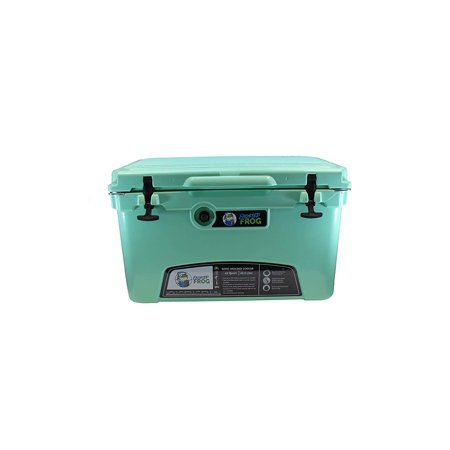 Frog Chest (Frosted Frog Mint 45 Quart Ice Chest HeavyDuty High Performance Insulated Cooler)