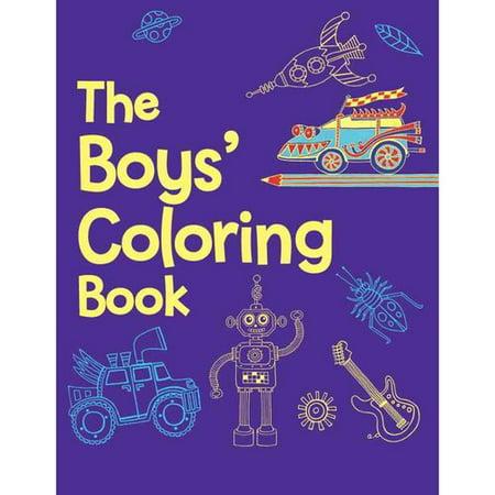 The Boys Coloring Book