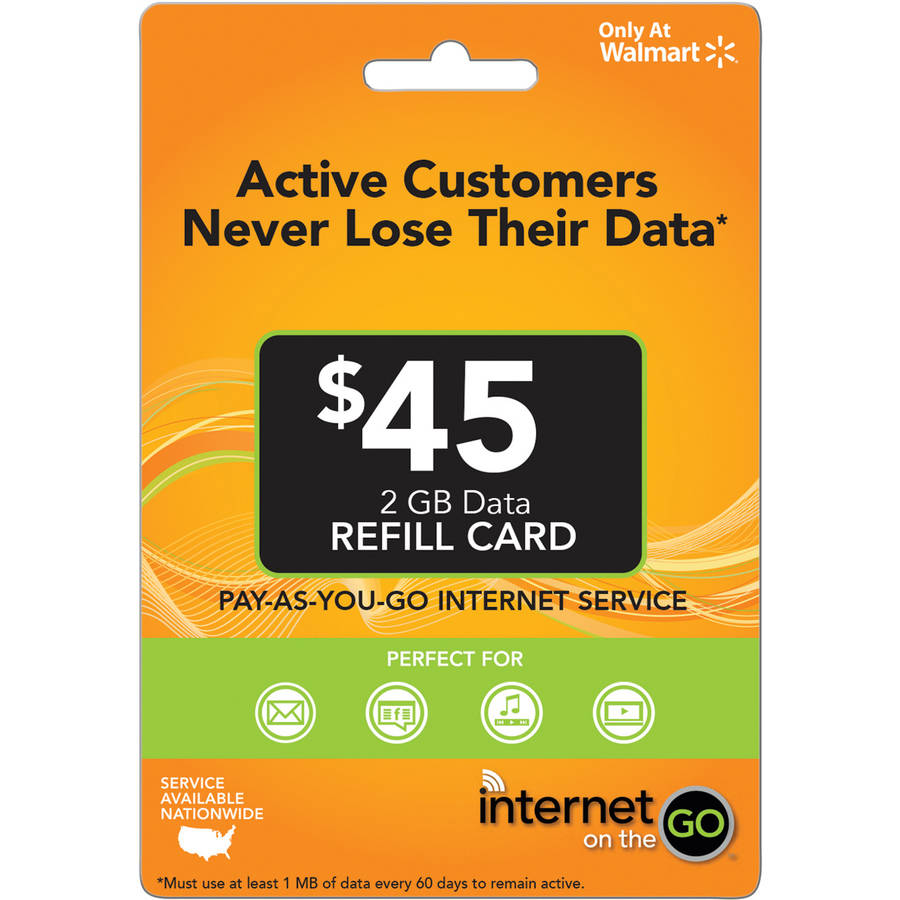 Internet on the Go $45 (Email Delivery)